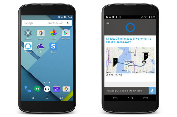 Microsoft's Cortana Headed to iPhone and Android Phones ...