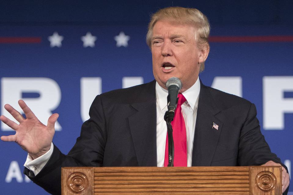 Republican presidential candidate Donald Trump in Bluffton, S.C., July 21.