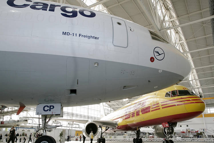 Air Cargo Volumes Drop as China s Economy Stumbles   WSJ     Europe are reporting declines in air freight after months of growth due  to reduced exports from Asia  raising concerns about the health of global  trade
