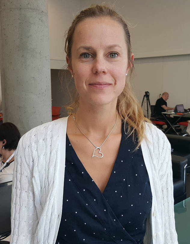 Dr. Emelie Benyi, researcher at Karolinska Institutet.