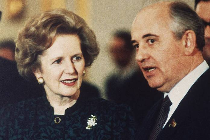 Thatcher And Gorbachev