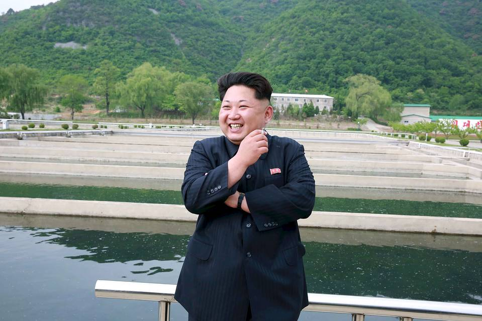 North Korean dictator Kim Jong Un.