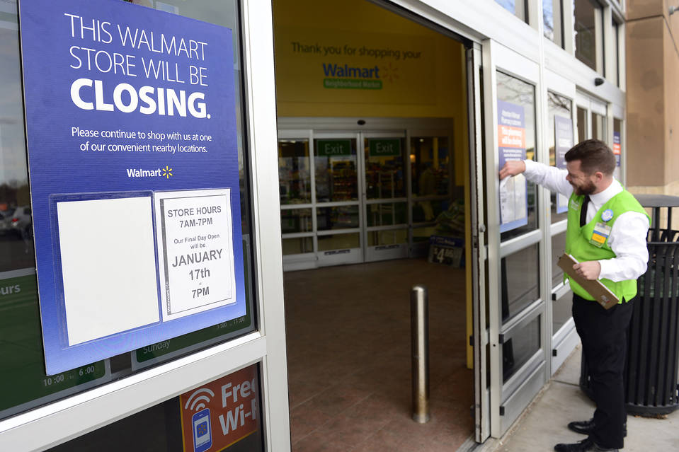 A Wal-Mart in Littleton, Colo., two days before it was shut down on Jan. 17.