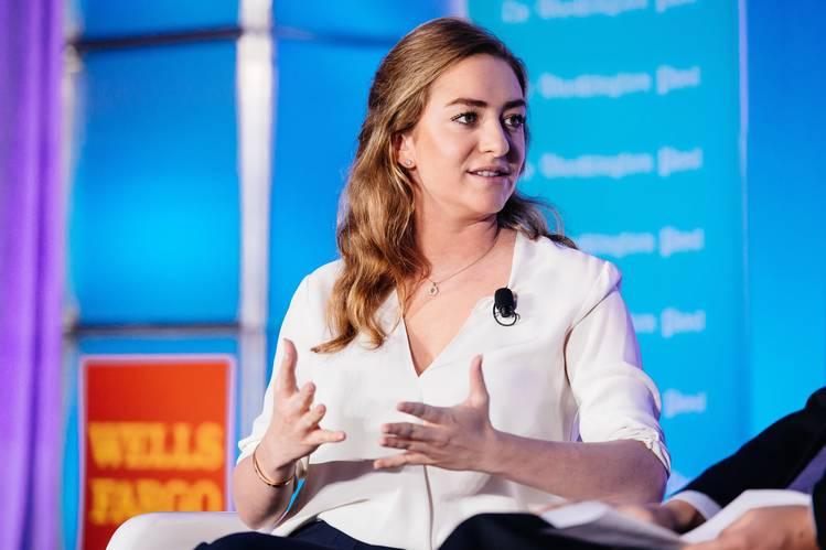 Whitney Wolfe, cofundadora de Bumble y Tinder, dos aplicaciones para encontrar pareja.