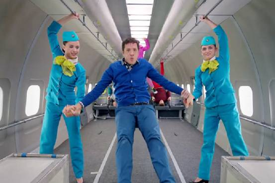 OK Go Defy Gravity in 'Upside Down and Inside Out' Video ...