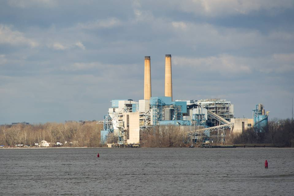 A Public Service Enterprise Group plant outside Trenton, New Jersey. The utility's stock is up almost 10% so far this year.