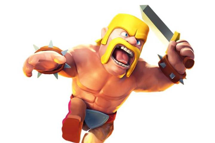 Mobile Game Revenue to Surpass Console and PC  Study Says   WSJ A Barbarian character from the    Clash of Clans    mobile videogame     Mobile is