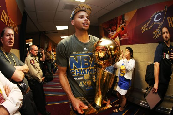 Stephen Curry was 27 when he won his first NBA title last year.