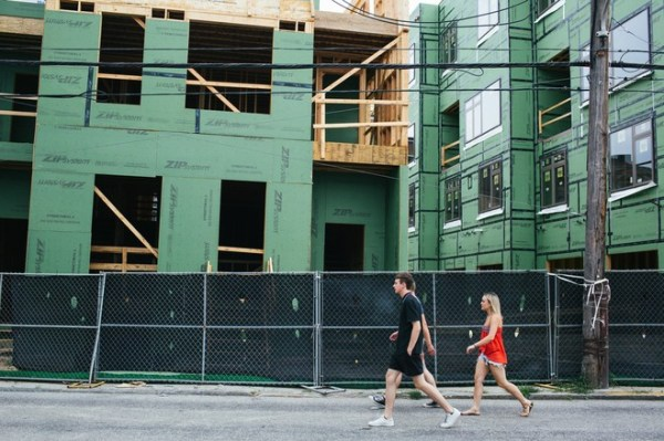 Northern Liberties was once full of factories, but is now seeing more residential construction and an influx of young adults.