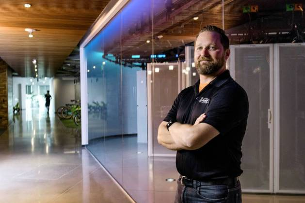Matt Toeller at the GoDaddy offices in Chandler, Ariz. He arrived at the company in July 2015 to set policies to steer pay decisions for the company's 5,000 employees.