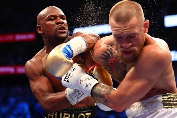When Boxing Goes Low  I Go High   WSJ Our columnist makes a  legally   altered visit to the absurd  Mayweather McGregor tangle in Nevada