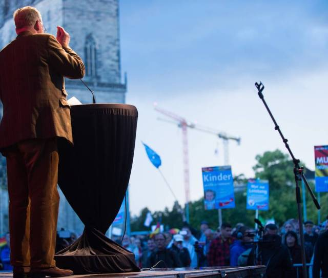Alexander Gauland A Leading Candidate Of The Far Right Alternative For Germany Afd