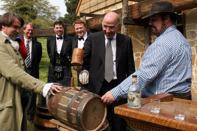 Gavin Hewitt, then chief executive of the Scotch Whisky Association, at an event in Virginia in 2012.