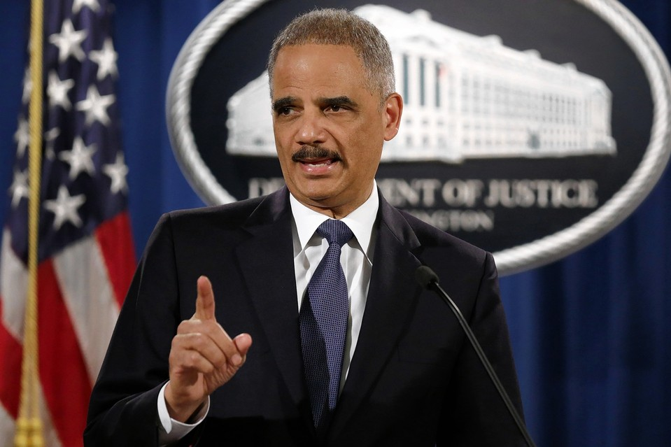 Attorney General Eric Holder speaks about the Justice Department's findings in the Ferguson investigations, March 4, in Washington, D.C.
