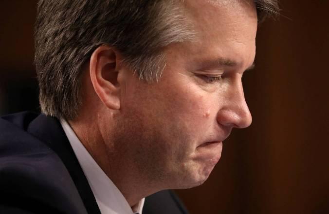 U.S. Supreme Court nominee Brett Kavanaugh on Capitol Hill, Sept. 4.