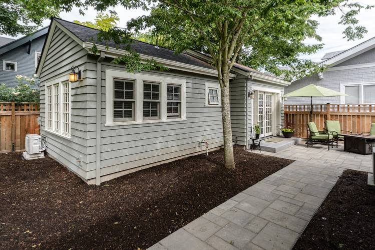 A 500-square-foot cottage behind a single-family house in Portland's Irvington historic district is the primary residence for the homeowner's mother.