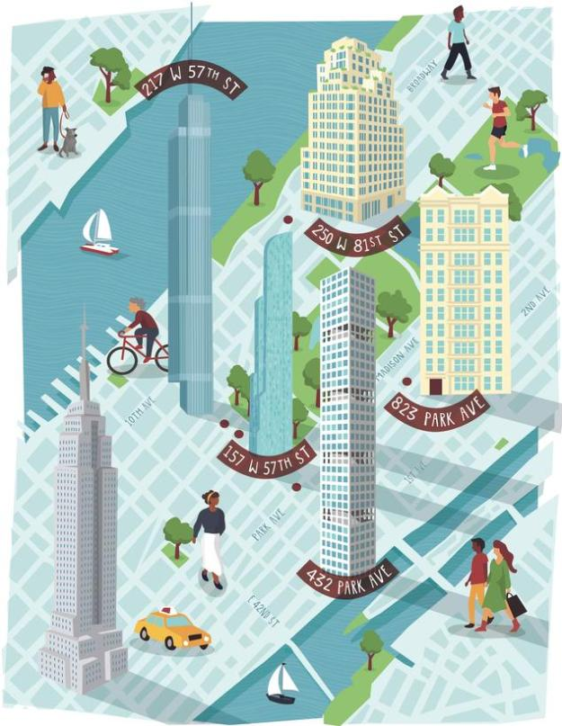 New York's Wealthiest Cut Losses as Manhattan Real Estate Falters