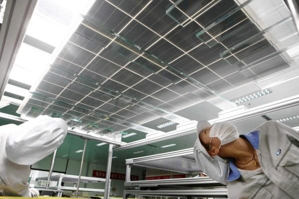 Tariffs Boost Solar-Panel Makers in U.S. - WSJ
