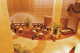 The Peninsula Tokyo lobby
