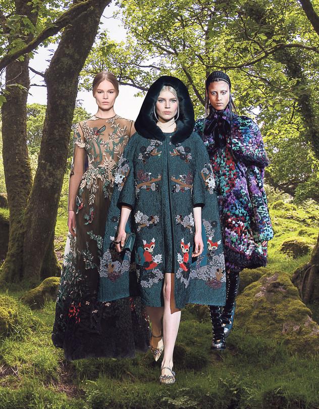 Fairy Tales Inspire Fall Fashion WSJ