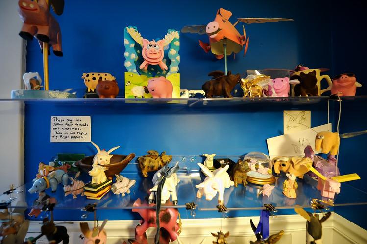 The Flying Pig Bookstore in Shelburne, Vt.
