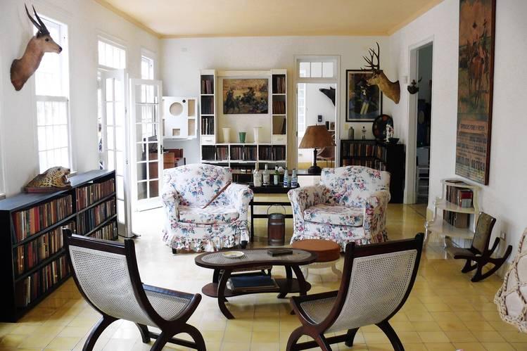 Hemingway's Homey Cuban House
