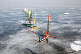 The Need For Speed Usually Leaves Ice Boaters Frozen In