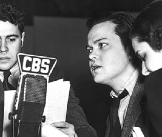 In The S Radio Drama Had Stars Like Orson Welles Second From Right