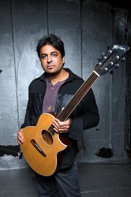 Guitarist Rez Abbasi.