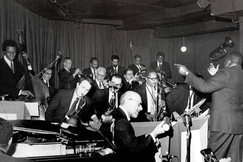 Mel Lewis Jazz Orchestra at the Village Vanguard in 1966.