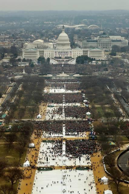 Donald Trump's Inauguration in 2017.