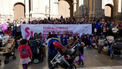 Presentación Plataforma Sí 0-6 en Plaza Pasiegas