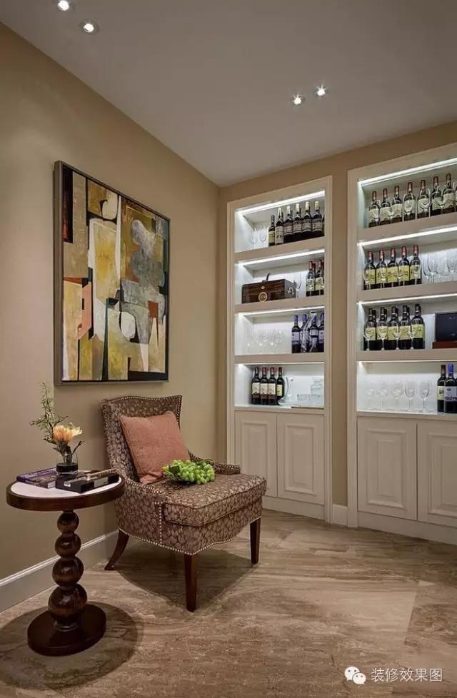 小戶型酒櫃怎麼裝?30個酒櫃設計總有一款適合你 - 每日頭條