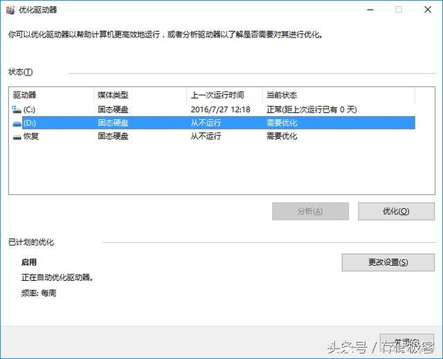 免費升級即將結束 盤點Win10下SSD優化 - 每日頭條