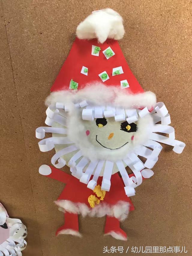 幼兒園聖誕節牆面裝飾作品欣賞 - 每日頭條