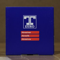 T-EURO 150mm VELCRO DISC P 80 15 HOLE BOX 50