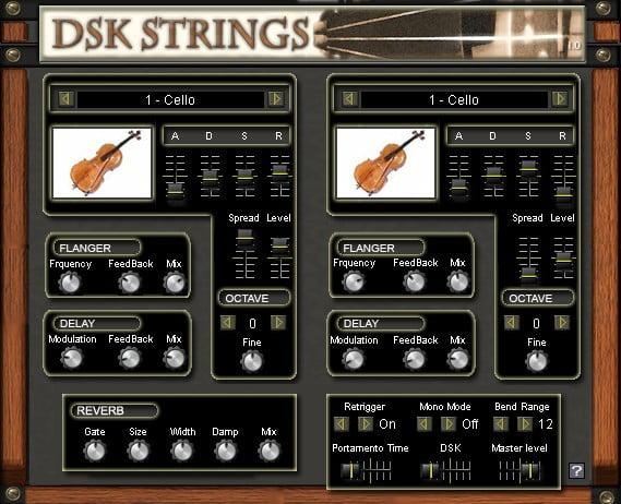 DSK Strings Free VST Plugin Download saichenstudios.com