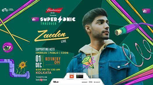 VH1 Supersonic club nights Ft. DJ Zaeden Live