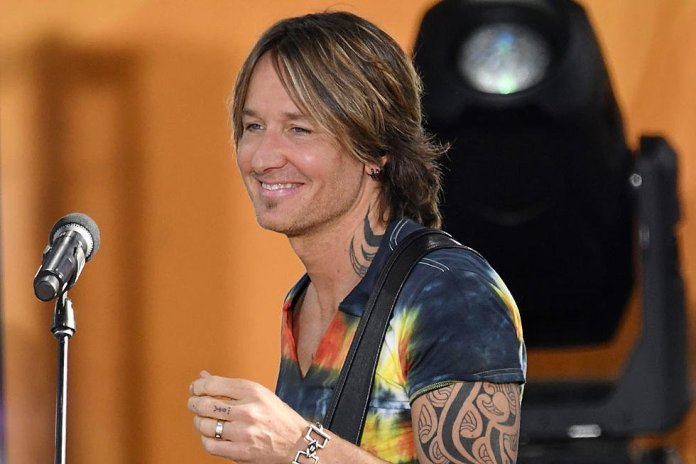 Keith Urban Releases New Track 'God Whispered Your Name'