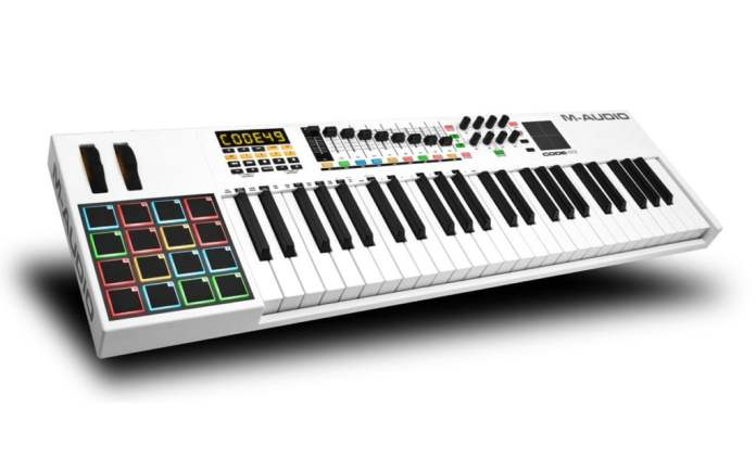 M Audio CODE 49 midi keyboard