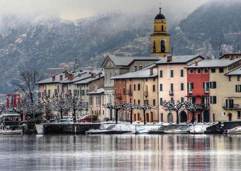لوغانو أجمل المدن السويسرية