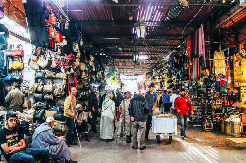 اسواق مراكش
