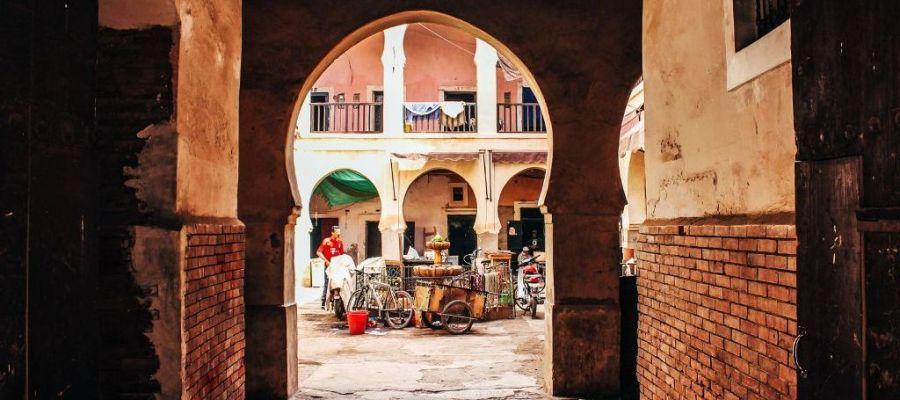 الاحياء القديمة السياحة في مراكش المغرب