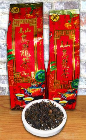 Doi Mae Salong Bai Yai Oolong Tee, Blätter