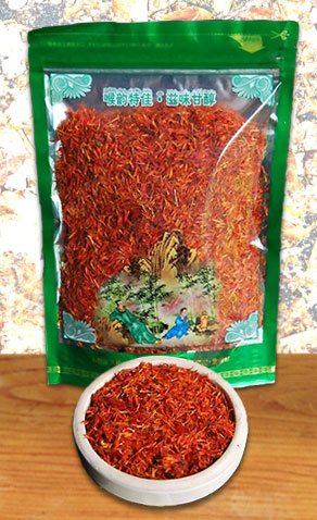 Färberdistel- / Safflor-Tee (Blütenblätter) aus Thailand
