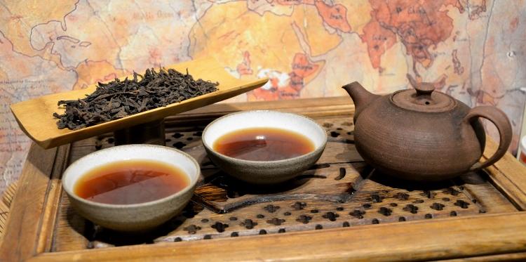 "Lincang Ripe (""shou"") Pu Erh tea, 2002 vintage"