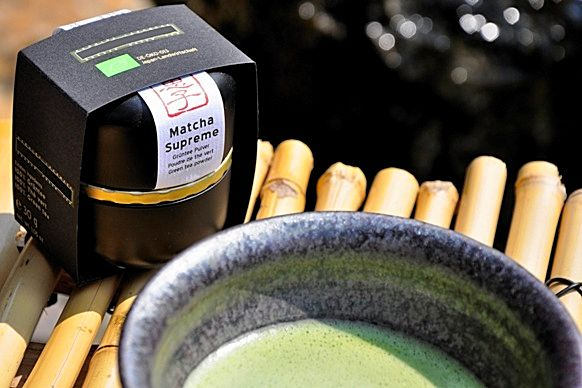 Genussfertiger Matcha-Tee