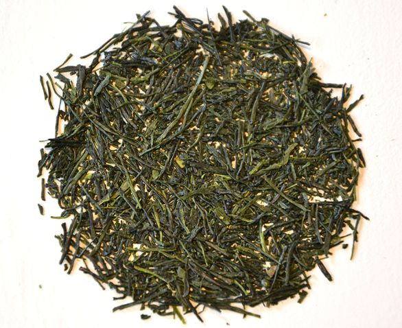 Fresh Gyokuro tea from the first harvest