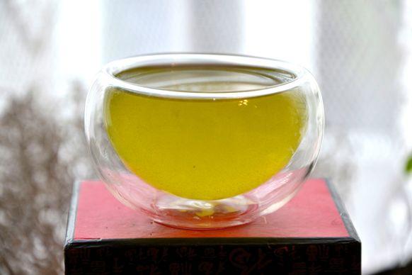 Kabusecha Tenko Grüner Tee: jadegrüner Aufguss