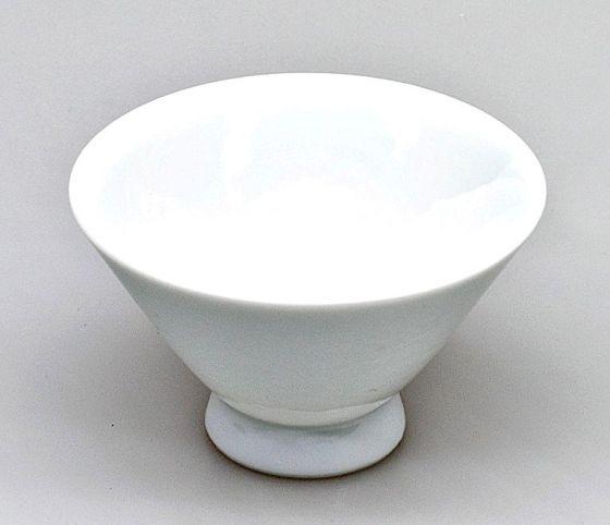 Japanische Teetasse (Chawan), weiß, 100ml